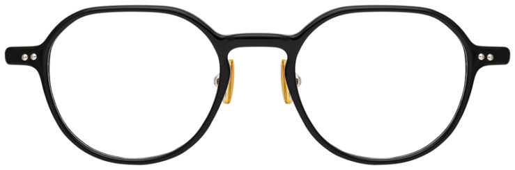 prescription-glasses-model-CAPRI-DC335-Black-Gold-FRONT