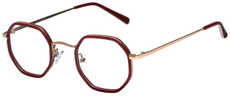 prescription-glasses-model-CAPRI-DC339-Burgundy-Gold-45