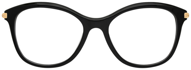 prescription-glasses-model-CAPRI-DC340-Black-Gold-FRONT