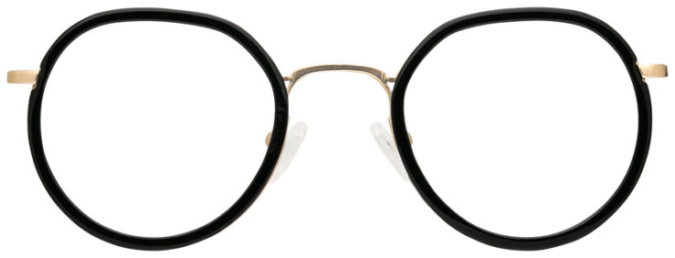 prescription-glasses-model-CAPRI-DC341-Black-Gold-FRONT