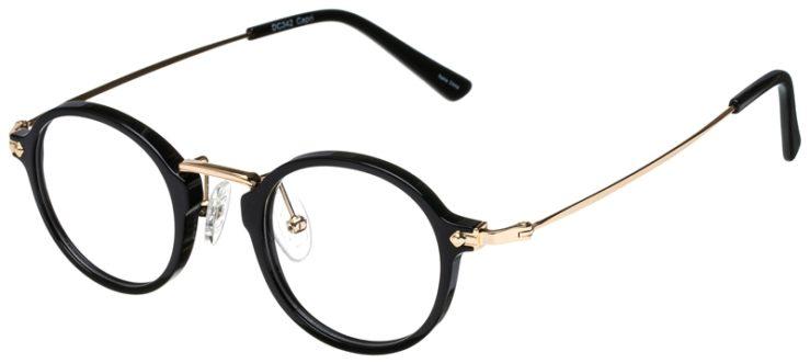 prescription-glasses-model-CAPRI-DC342-Black-Gold-45