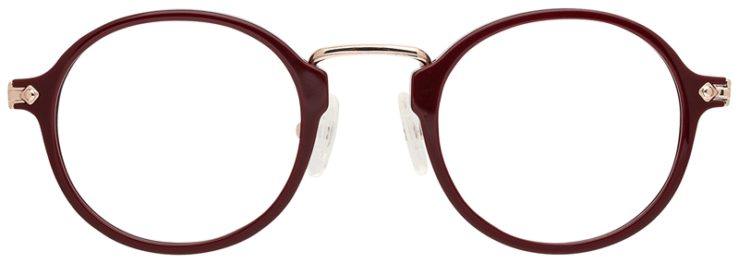 prescription-glasses-model-CAPRI-DC342-Burgundy-Gold-FRONT