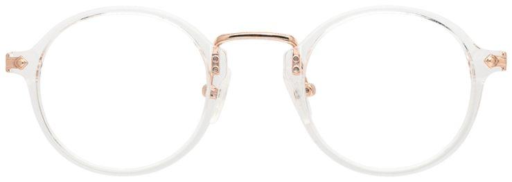 prescription-glasses-model-CAPRI-DC342-Crystal-Gold-FRONT