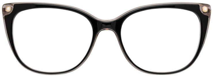 prescription-glasses-model-CAPRI-DC343-Black-Gold-FRONT