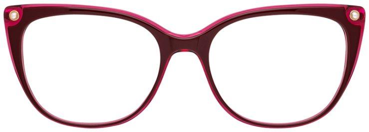 prescription-glasses-model-CAPRI-DC343-Burgundy-Gold-FRONT