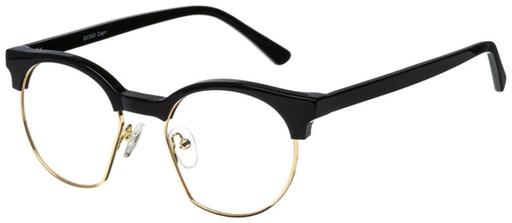 prescription-glasses-model-CAPRI-DC345-Black-Gold-45