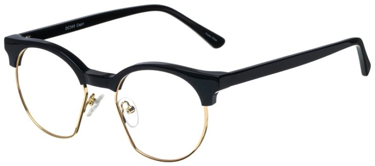 prescription-glasses-model-CAPRI-DC345-Navy-Gold-45
