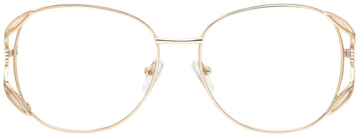 prescription-glasses-model-CAPRI-PT201-Gold-FRONT