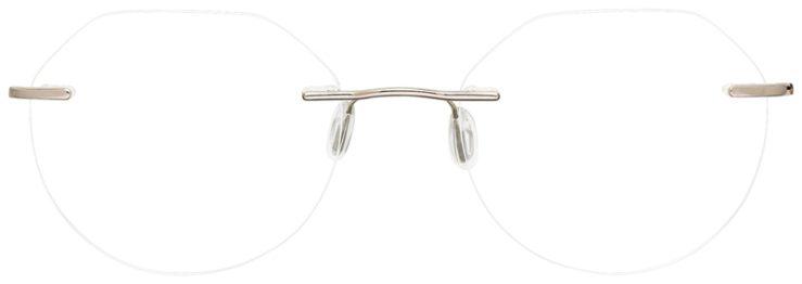 prescription-glasses-model-CAPRI-SL-803-Silver-Gold-FRONT