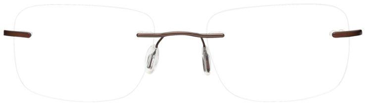 prescription-glasses-model-CAPRI-SL-806-Brown-Gold-FRONT