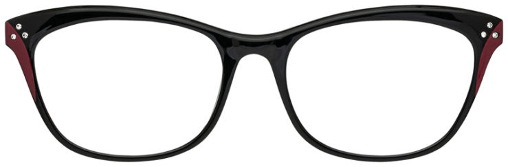 prescription-glasses-model-CAPRI-US103-Black-Burgundy-FRONT