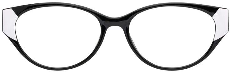 prescription-glasses-model-CAPRI-US104-Black-White-FRONT