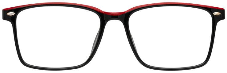 prescription-glasses-model-CAPRI-US105-Black-Red-FRONT