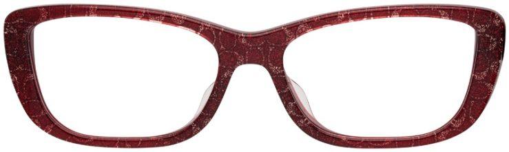 prescription-glasses-model-Coach-HC6135F-Burgundy-Glitter-FRONT