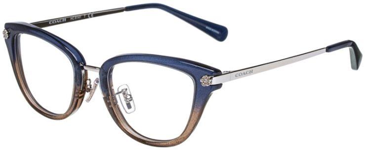prescription-glasses-model-Coach-HC6141-Denim-Glitter-Gradient-45