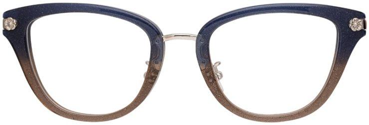 prescription-glasses-model-Coach-HC6141-Denim-Glitter-Gradient-FRONT