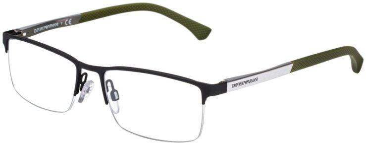 prescription-glasses-model-Emporio-Armani-EA1041-Matte-Black-Silver-Green-45