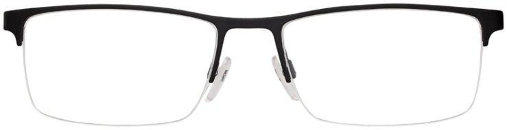 prescription-glasses-model-Emporio-Armani-EA1041-Matte-Black-Silver-Green-FRONT