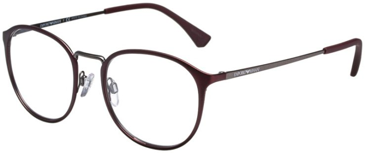 prescription-glasses-model-Emporio-Armani-EA1091-Matte-Burgundy-Gunmetal-45