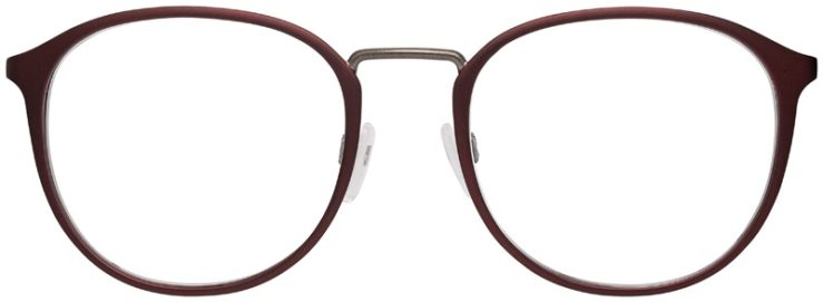prescription-glasses-model-Emporio-Armani-EA1091-Matte-Burgundy-Gunmetal-FRONT