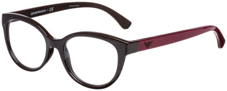 prescription-glasses-model-Emporio-Armani-EA3104-Brown-Burgundy-45