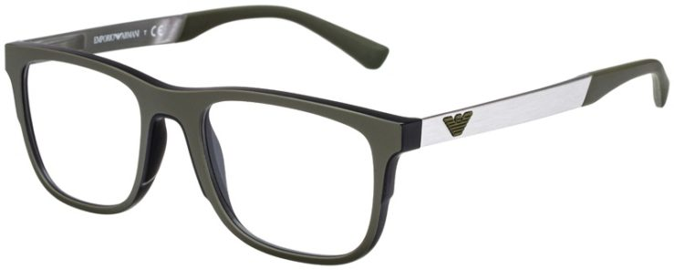 prescription-glasses-model-Emporio-Armani-EA3133-Green-Black-Sliver-45