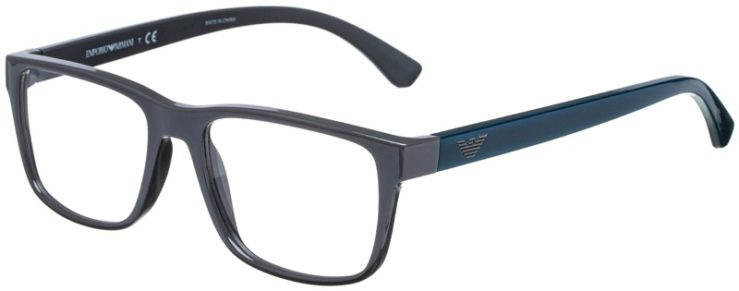 prescription-glasses-model-Emporio-Armani-Matte-Gray-45