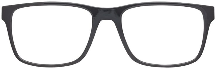 prescription-glasses-model-Emporio-Armani-Matte-Gray-FRONT