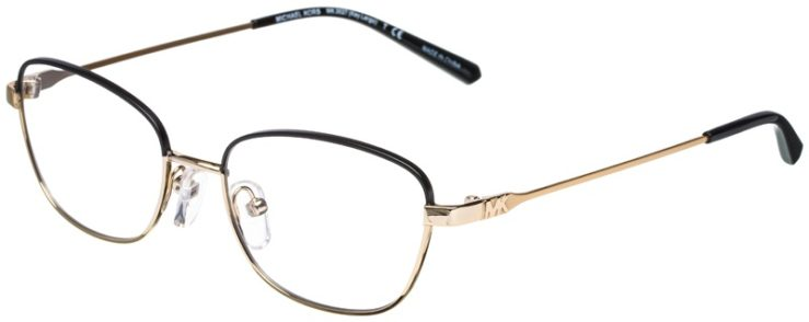 prescription-glasses-model-Michael-Kors-MK3027-Black-gold-45