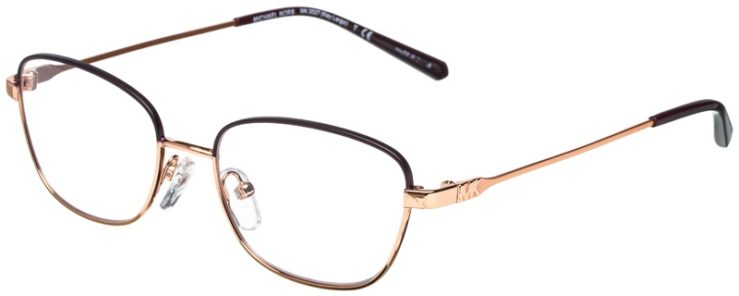 prescription-glasses-model-Michael-Kors-MK3027-Matte-Purple-Rose-Gold-45