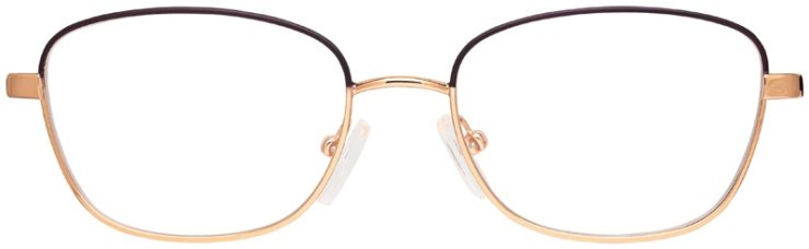 prescription-glasses-model-Michael-Kors-MK3027-Matte-Purple-Rose-Gold-FRONT