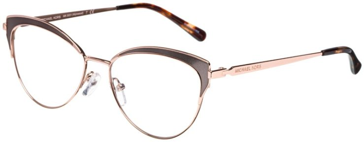 prescription-glasses-model-Michael-Kors-MK3031-Rose-Gold-Tortoise-45