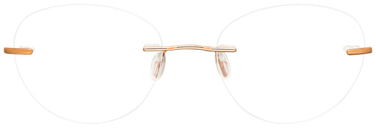 prescription-glasses-model-SL-805-Rose-Gold-FRONT