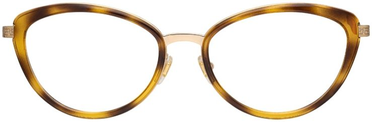 prescription-glasses-model-Versace-VE1244-Havana-Tortoise-FRONT