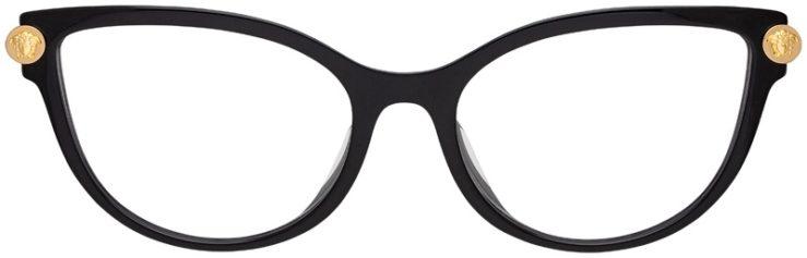 prescription-glasses-model-Versace-VE3270QA-Black-FRONT