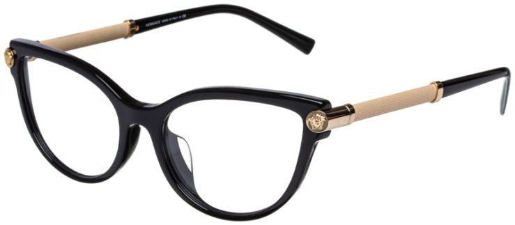 prescription-glasses-model-Versace-VE3270QA-Black-Tan-45