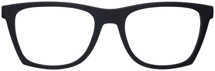 prescription-glasses-model-Armani-Exchange-AX3058-Matte-Black-FRONT