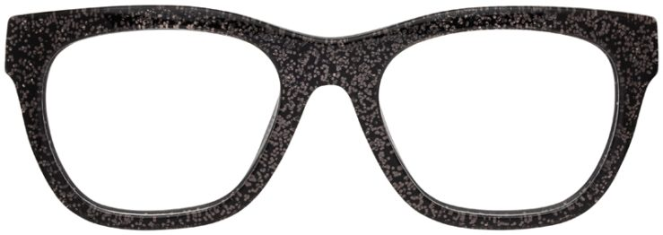 prescription-glasses-model-Coach-HC6115-Black-Chunky-Glitter-FRONT