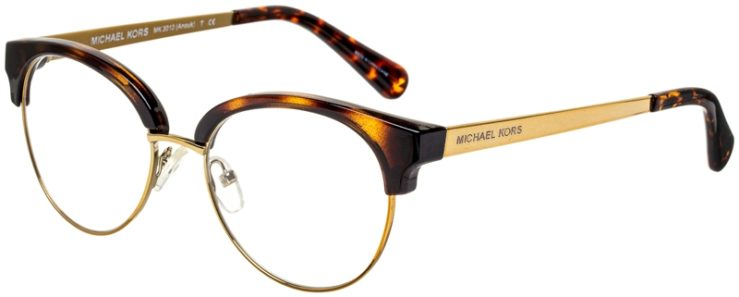 prescription-glasses-model-Michael-Kors-MK3013-Tortoise-Gold-45