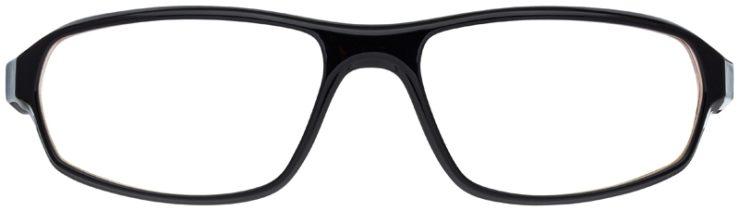prescription-glasses-model-Nike-7061-Black-FRONT