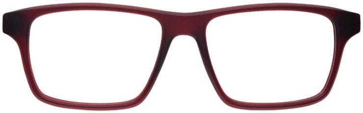 prescription-glasses-model-Nike-7112-burgundy-FRONT