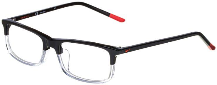 prescription-glasses-model-Nike-7252-Black-Clear-45