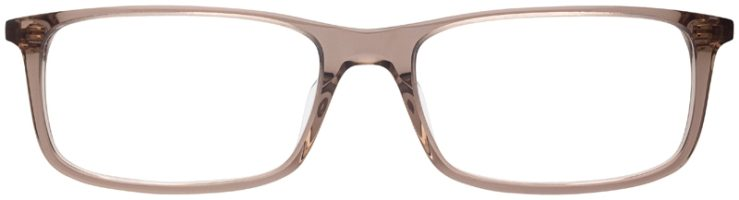 prescription-glasses-model-Nike-7252-Clear-Brown-FRONT
