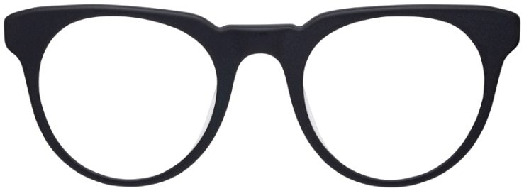 prescription-glasses-model-Nike-KD88-Matte-Black-FRONT