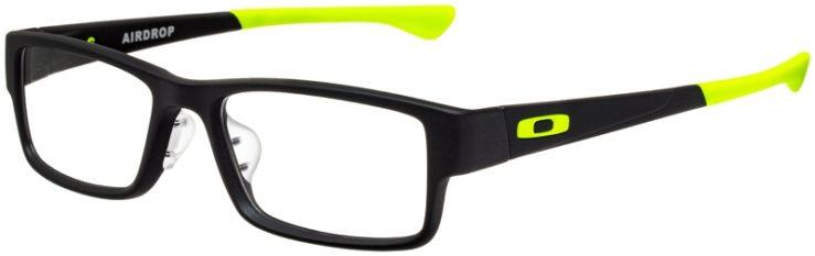 prescription-glasses-model-Oakley-Airdrop-Satin-Black-Yellow-45