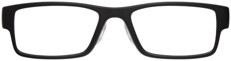 prescription-glasses-model-Oakley-Airdrop-Satin-Black-Yellow-FRONT