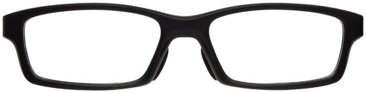 prescription-glasses-model-Oakley-Crosslink-Satin-Black-Red-FRONT