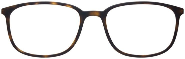 prescription-glasses-model-Prada-VPS-03H-Matte-Tortoise-FRONT