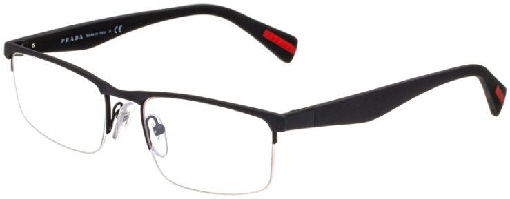 prescription-glasses-model-Prada-VPS-52F-Matte-Black-45