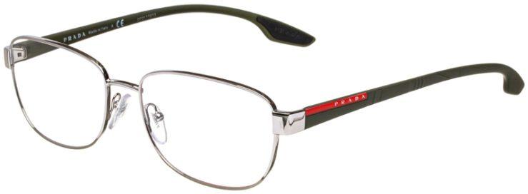 prescription-glasses-model-Prada-VPS-52L-Silver-Green-45